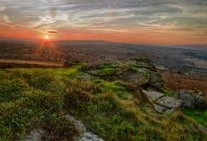 dartmoor Девон Стоковые Фотографии RF