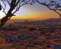 Dartmoor Ansichten lizenzfreie stockbilder