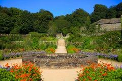 Dartmoor de jardins d'abbaye d'arrière-pays Image libre de droits