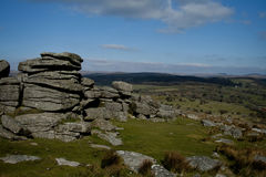 Dartmoor, Devon Fotografia Stock