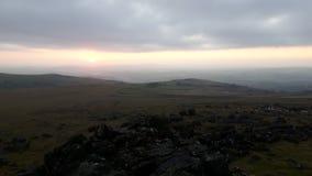 Dartmoor en Devon Photo stock