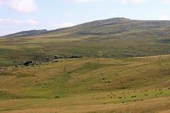 Dartmoor. Granite tor on  Dartmoor, Devon Stock Photography