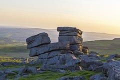 Dartmoor Great Staple Tor Royalty Free Stock Image