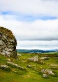 Dartmoor landscape, England (portrait mode) Stock Photography