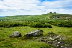 Dartmoor landscape, England - 4 Stock Photography