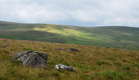 Dartmoor National Park. Stock Photo