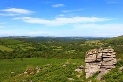 Dartmoor Nationalpark lizenzfreies stockfoto
