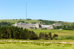 Dartmoor prison Devon England a British prison Royalty Free Stock Photo