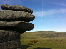 Dartmoor Reino Unido hexworthy dos Torr Fotografia de Stock Royalty Free