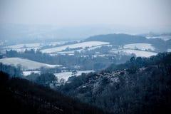Dartmoor Royaume-Uni pendant la bête du 2018 est photos libres de droits