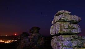 Dartmoor stor häftklammerTor Royaltyfri Bild