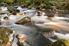 Dartmoor Stream Royalty Free Stock Photography