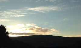 Dartmoor sunrise royalty free stock photo
