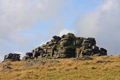 Dartmoor Tor arkivfoto