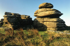 Dartmoor Tor (closeup) Royalty Free Stock Photography