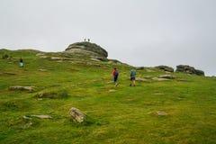 Haytor Rocks  in Dartmoor, Devon, UK Stock Images