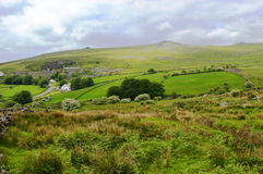 Dartmoor. View of the Dartmoor nea Postbridge Devon Royalty Free Stock Image
