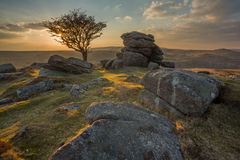 Dartmoor views. Stock Image