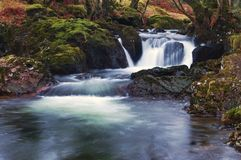 Dartmoor waterfall Royalty Free Stock Photography