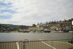 Dartmouth, Κορνουάλλη, UK Στοκ Εικόνα