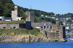 Dartmouth Castle Royalty Free Stock Photography