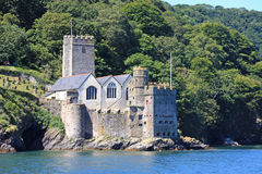 Dartmouth Castle. By the River Dart stock photo