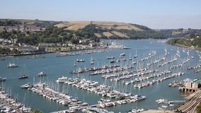 Dartmouth Devon England UK historic town Stock Photography