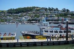 Dartmouth, Devon Passenger Ferry Boat image stock