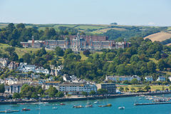 Dartmouth Devon Południowy zachodni Anglia UK Zdjęcie Royalty Free