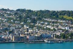 Dartmouth Devon Południowy zachodni Anglia UK Zdjęcia Royalty Free