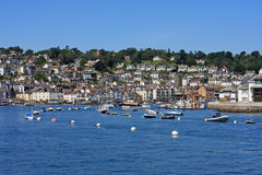 Dartmouth, Devon. Dartmouth by the River Dart, Devon royalty free stock image