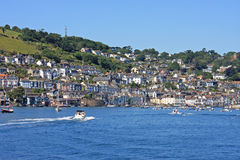 Dartmouth, Devon. Dartmouth town by the River Dart royalty free stock photography