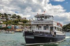 DARTMOUTH, DEVON/UK - JULY 29 : Dartmouth Castle pleasure boat a Stock Photo