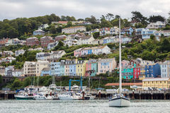 DARTMOUTH, DEVON/UK - JULY 28 : View across the River Dart to Da Royalty Free Stock Photo