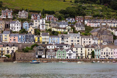 DARTMOUTH, DEVON/UK - JULY 28 : View across the River Dart to Da Royalty Free Stock Images