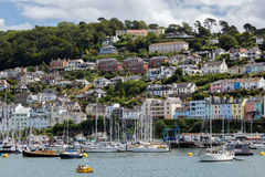DARTMOUTH, DEVON/UK - JULY 29 : View across the River Dart towar Royalty Free Stock Photo