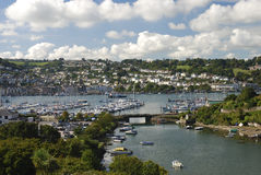 Dartmouth Harbour Landscape Stock Photo
