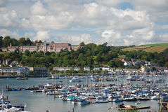 Dartmouth Harbour & Naval College Royalty Free Stock Image