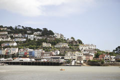 Dartmouth houses Royalty Free Stock Photography
