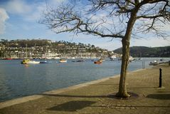Dartmouth, les Cornouailles, R-U image libre de droits