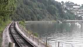 Dartmouth preservou a estação de trem video estoque
