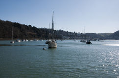 Dartmouth & The River Dart Royalty Free Stock Image