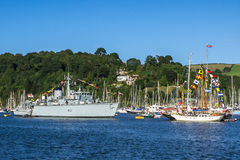 Dartmouth Royal Regatta Flagship Stock Photography
