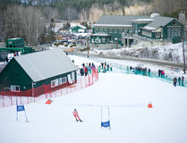 Dartmouth Skiway Royalty Free Stock Images