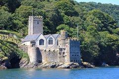Dartmouth slott Arkivfoto