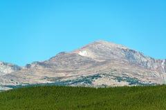 Darton Peak in Wyoming Royalty Free Stock Image