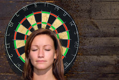 Darts-1. Dangerous games Stock Photo