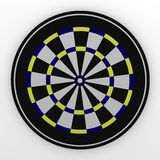 Darts. 3d render of darts (game Stock Photography