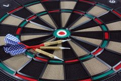 Darts. For an electronic dartboard Royalty Free Stock Photos