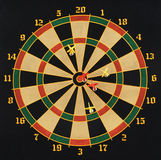 Darts. Close-up. Playing in Stock Images